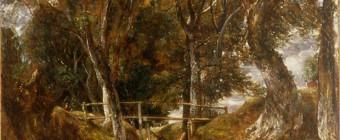Constable, dell at helmingham park, landscape painting