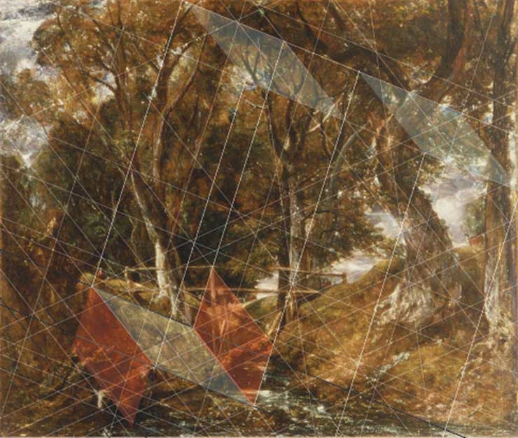 Constable, geometry study, painting lesson