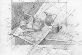 composition drawing Pencil