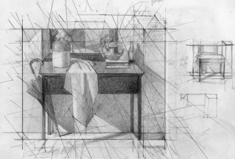 Drawing Umbrella, drawing, online portfolio