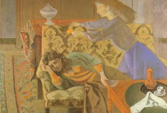 Balthus, oil painting