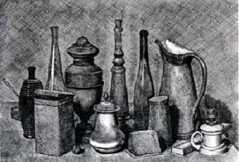 Morandi, fine art, etching